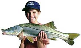 Boy with Snook